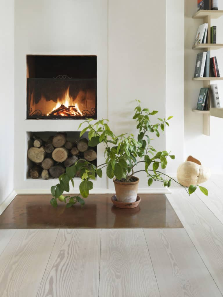 The Dinesen country home shows off Dinesen flooring.