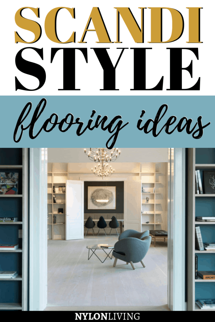 Dinesen wood floors create a feeling of space and light even despite the qualities of the room itself – something that Scandinavian design does well! The floors are treated with lye and soap to get that Scandinavian pale look , but they are seriously pricey. Check out some Dinesen flooring alternatives and some scandi style flooring ideas. #scandistyle #scandidesign #dinesen #floors #flooring