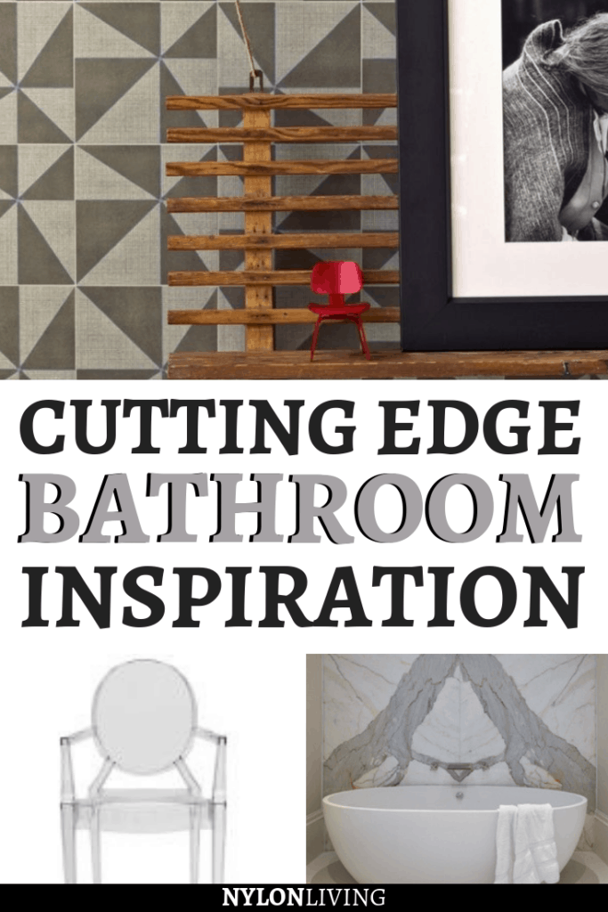 Looking to renovate your bathroom? I love bathrooms that remind me of New England, combined with stone baths and furniture that have a contemporary elegant look. Check out these cutting edge bathroom decor ideas and find some New England bathroom interior design inspiration. #bathroom #bathroomdesign #bathroomideas #newengland