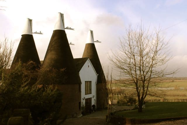 Round and Round an Oast House