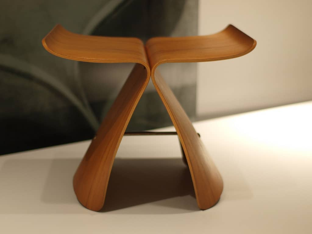 Float Like a Yanagi Butterfly Stool