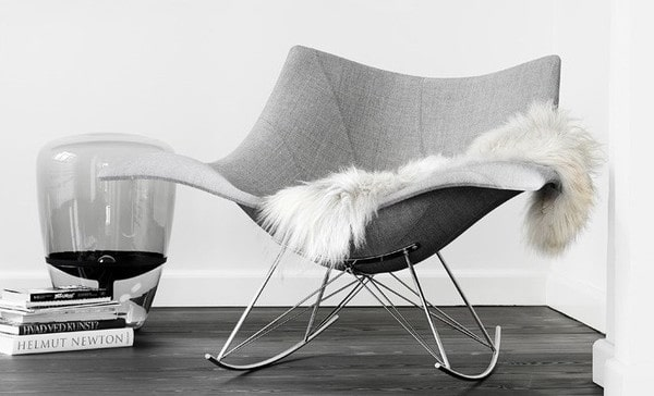 stingray upholstered chair
