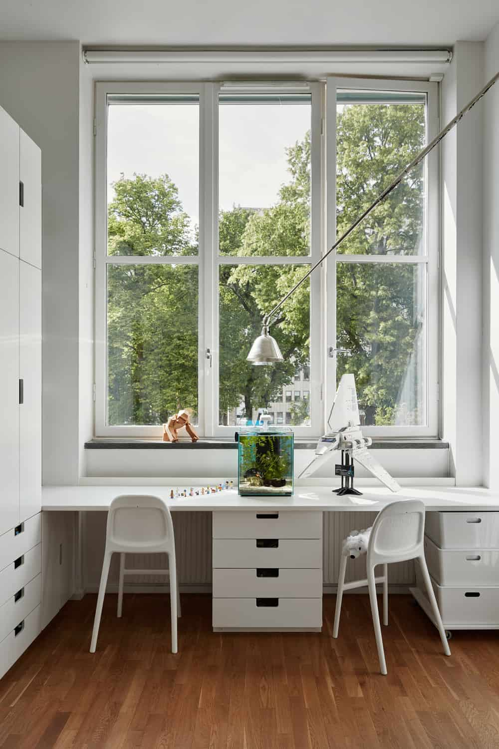 Scandinavian style for a family home