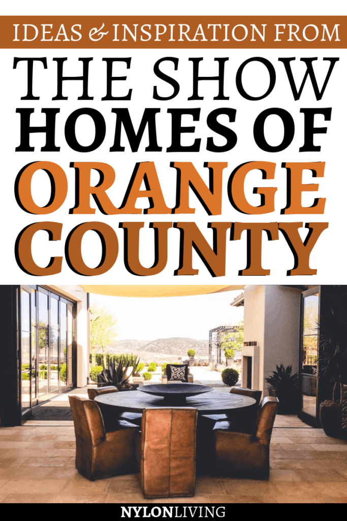 If you want to check out some real luxury model houses, then you need to head to Orange County, California. I'll bring you on a tour of the Real Homes of Orange County , that are furnished in the rough luxe style which I love – lots of texture amidst truly luxurious fabrics and furniture, in true rough luxe decor. Check out this post for inspiration from these rough luxe interiors. #luxuryhomes #orangecounty #california #interiordesignideas
