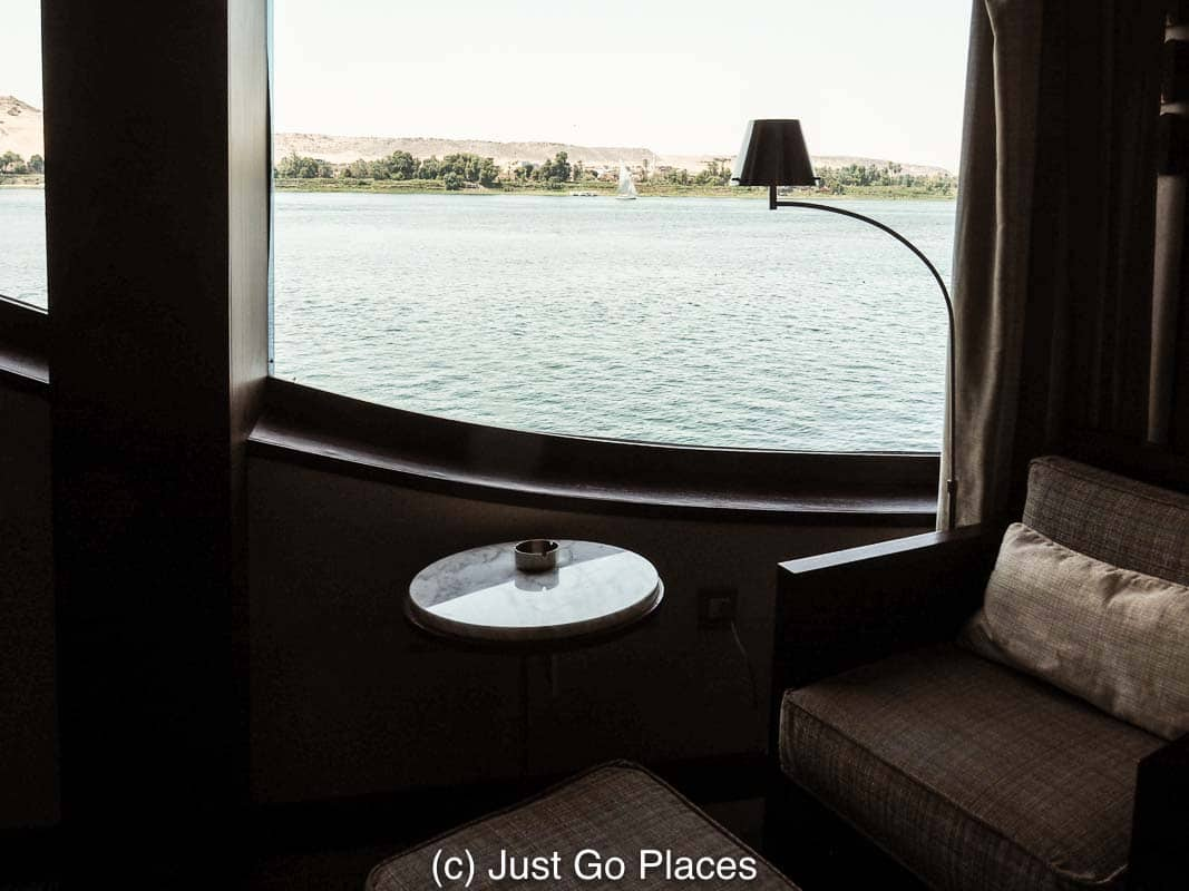 Discreet Luxury on a Small Ship Cruiser on a Nile Cruise in Egypt