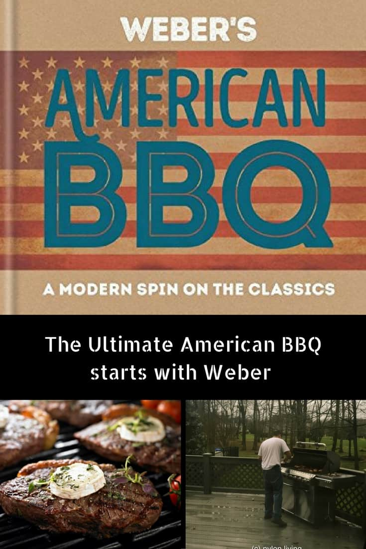 The ultimate American BBQ is a Weber Barbecue