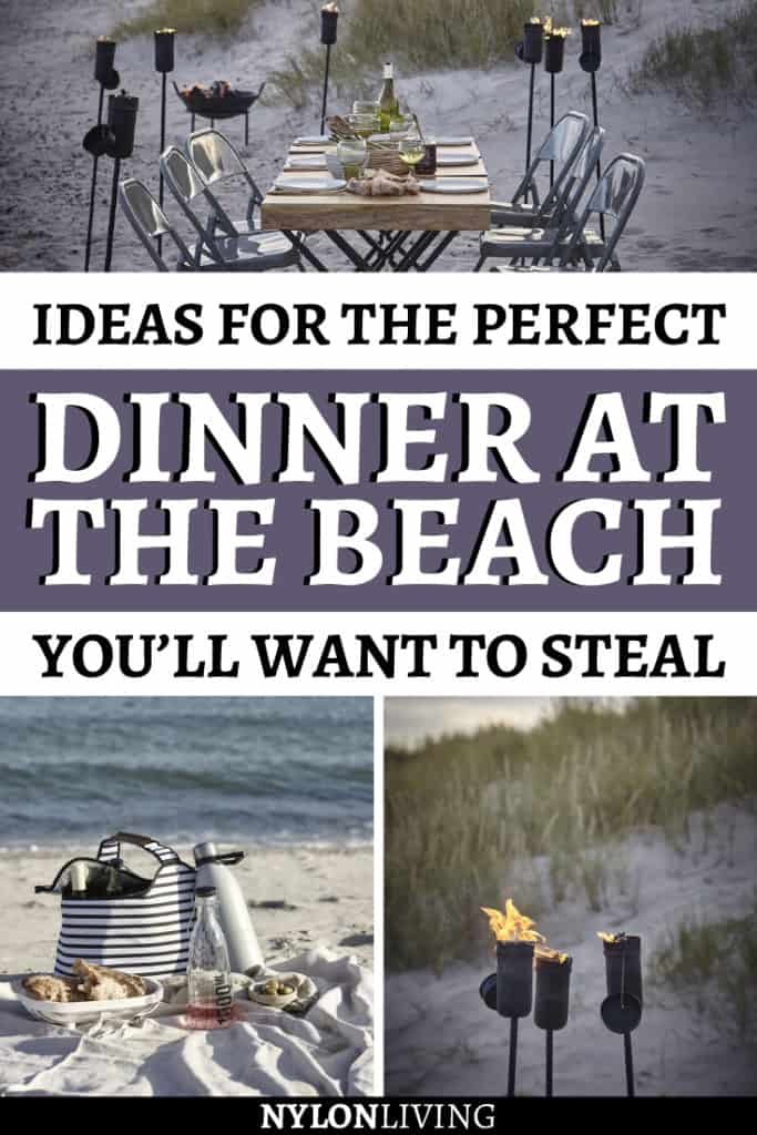 I would LOVE a shack at the beach. You could sit and eat without the wind blowing your food away…. but not a practical idea for most. Certainly, the simplest version is a pretty beach blanket accessorised with good food, drinks and friends. What about something more fancy? Check out a few ideas for the perfect dinner at the beach you'll want to steal. #beach #beachshack #beachdinner # #outdoorfurniture #outdoorspaces #outdoorliving #scandinavianhome #scandinaviandesign