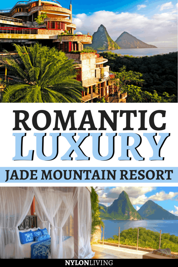 The island of Saint Lucia is paradise on Earth, and Jade Mountain Resort, St Lucia has captured the essence of the plantation style in its luxury architect-designed hotel. Discover the luxurious plantations style interiors and what makes the resort an architectural masterpiece in the Caribbean. Itìs the perfect destination for a honeymoon! #caribbean #stlucia #saintlucia #honeymoon #luxuryhotels