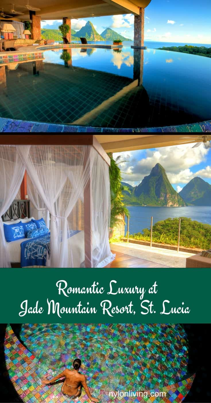 Romantic Plantation Style Home Inspiration at Jade Mountain Resort in St Lucia