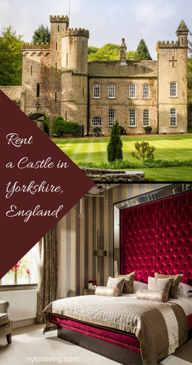 castle for rent in Yorkshire