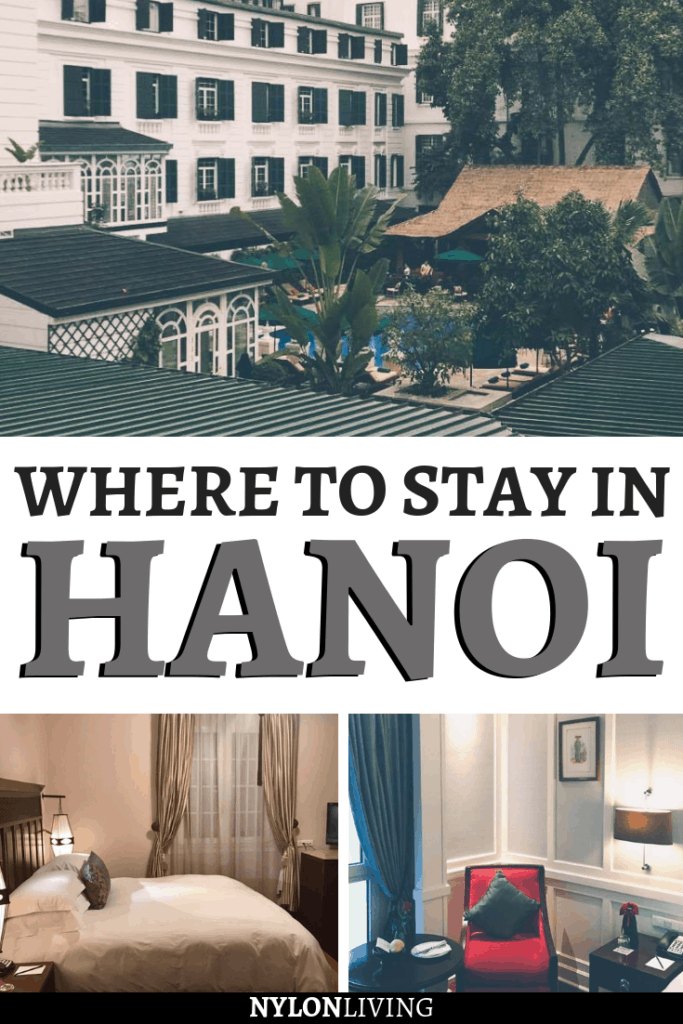 Heading to Hanoi? If you're wondering where to stay in Hanoi, Vietnam, look no further. Discover the French colonial glamour of the Metropole Hanoi. This luxury hotel in Hanoi combines a traditional decor and modern touches and will be the perfect base for your stay in the city. #hotel #hotelreview #hanoi #vietnam