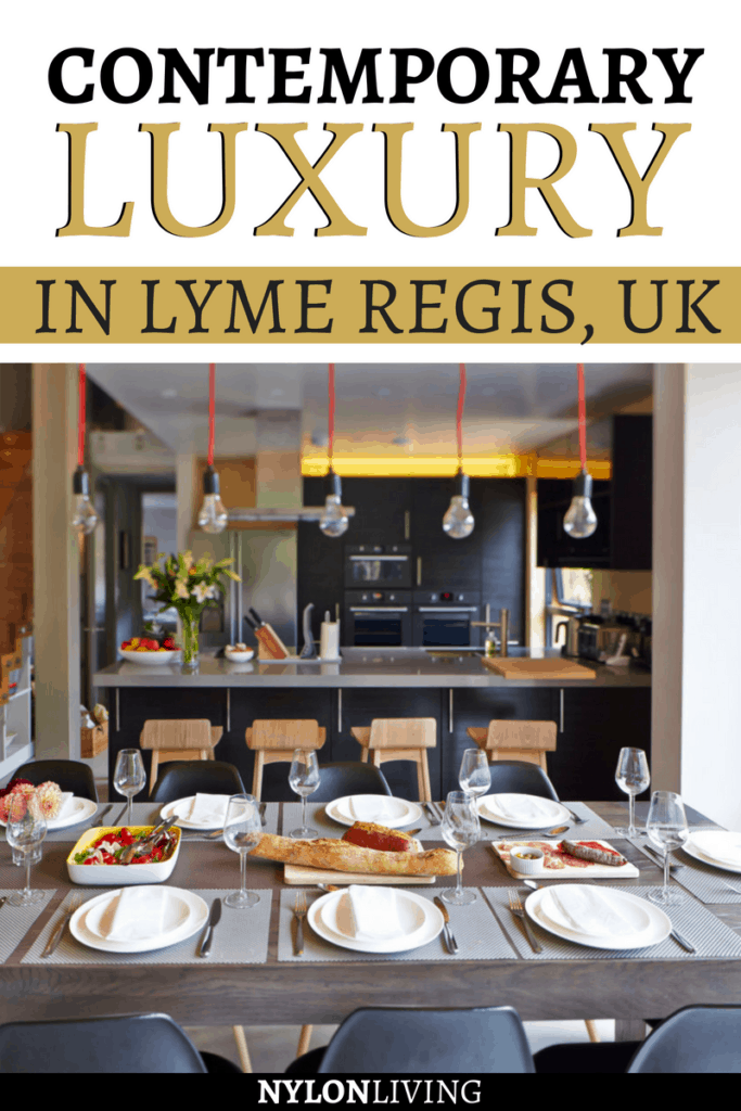 When you think of Lyme Regis, England, your first thought would be of old English-style thatched roof houses or farmhouses. The ultra-modern Lyme Regis house named Montana, available through Unique Home Stays, provides luxury Lyme Regis accommodation. Check out why this is a great choice for a Lyme Regis holiday. #lymeregis #england #uk