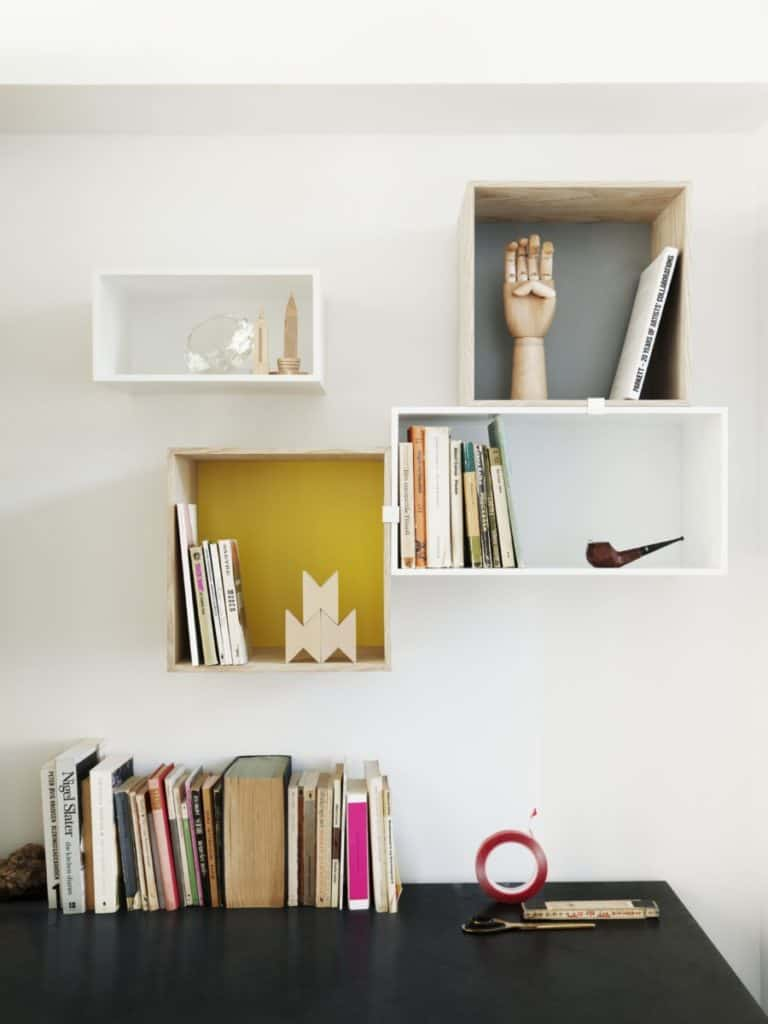Inspiration From Muuto On How To Make Cube Shelves Shelfie-Perfect
