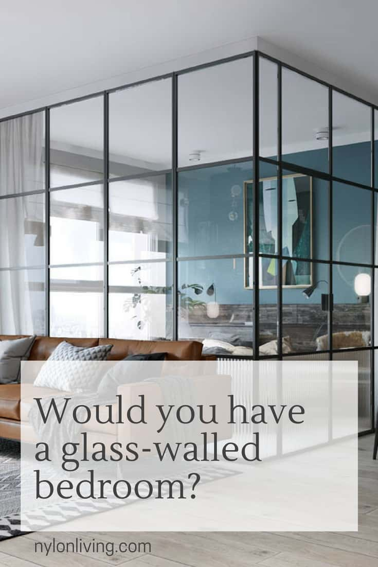 Swoonworthy Small Apartments With Glass Walls For Bedrooms
