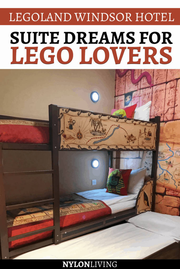 For our son's birthday, we stayed at the Legoland Hotel Windsor. He loves legos and theme parks so it was perfect for him! Everything here is decorated with legos, including the lego hotel rooms. This is the perfect lego lovers gift idea - check out why! #lego #legos #hotel #windsor #uk #kidfriendly