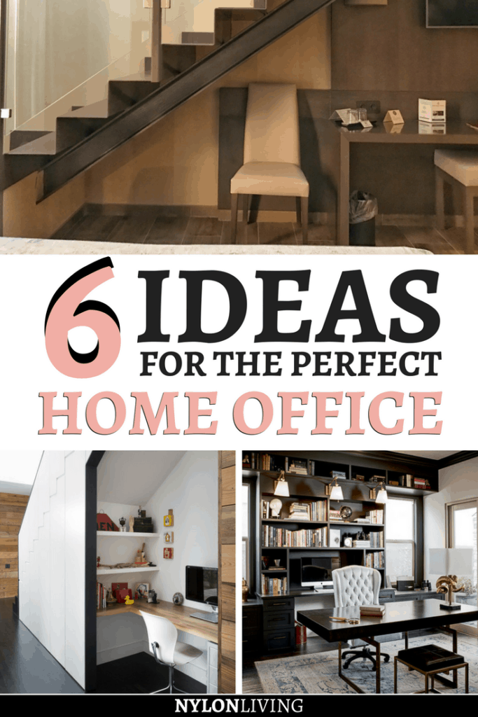 If you are working from home, it is important to have your own private workspace. Check out a few ideas for a stylish but practical home office design. These home office ideas are all very different so you'll find one you like! #homeoffice #officespace #officeinteriordesign #homedecor - via @nylonliving