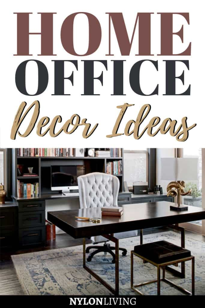 When you work all day from home, it is important, no, ESSENTIAL, to have your own private workspace. Discover a few ideas for a practical yet very stylish home office design. These home office ideas are all different and cater to different needs, from small spaces to higher budgets. Working from home will never be the same. #homeoffice #officespace #officeinteriordesign #homedecor