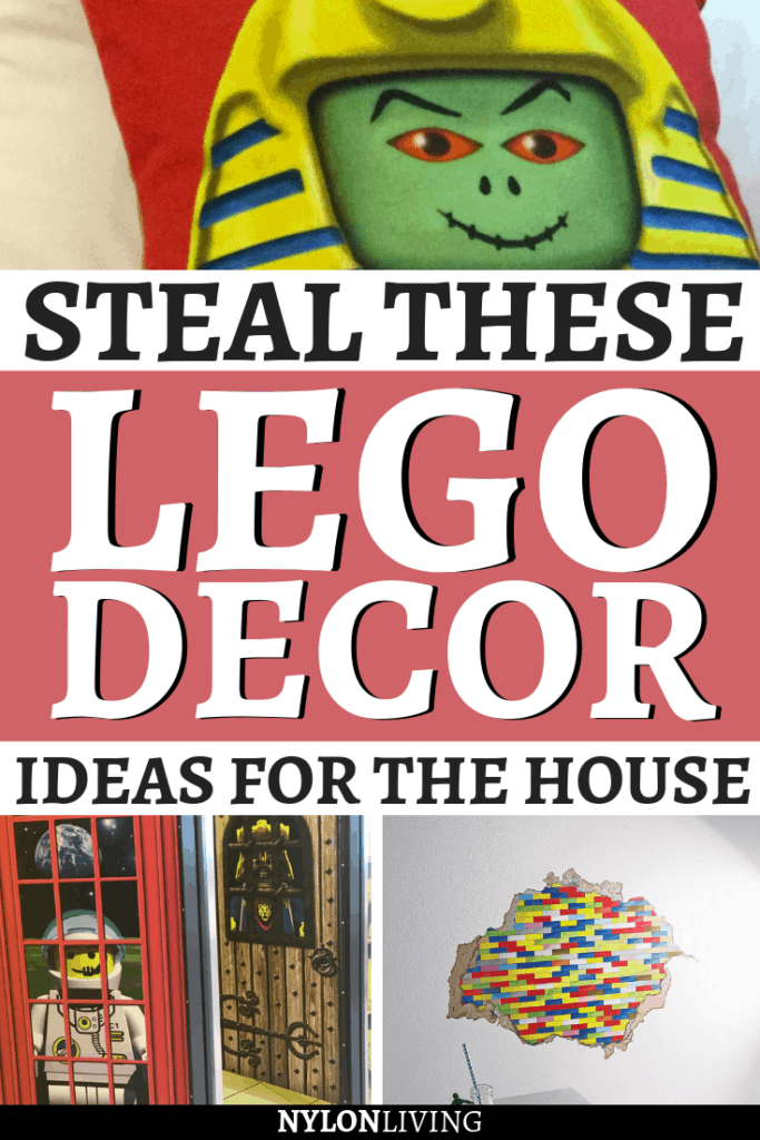 I bet your kids would go crazy for a Lego themed bedroom, but if that's a bit too much, what about just a bit of Lego room decor for your house? The family-friendly Legoland Windsor Hotel will inspire you (while the children will never want to leave. Check out a few ideas to design a Lego themed room play space or some Lego bedroom ideas. #lego #bedroomideas #bedroomdesign #kidsroom #childrensroom