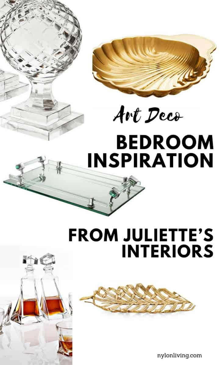 How To Create An Art Deco Inspired Boudoir with Ginspiration