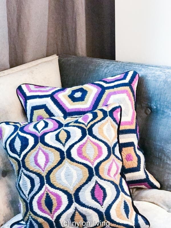 Happy Chic | Happy Chic by Jonathan Adler | luxury decorative pillows | modern home décor accessories | jonathan Adler throw pillows