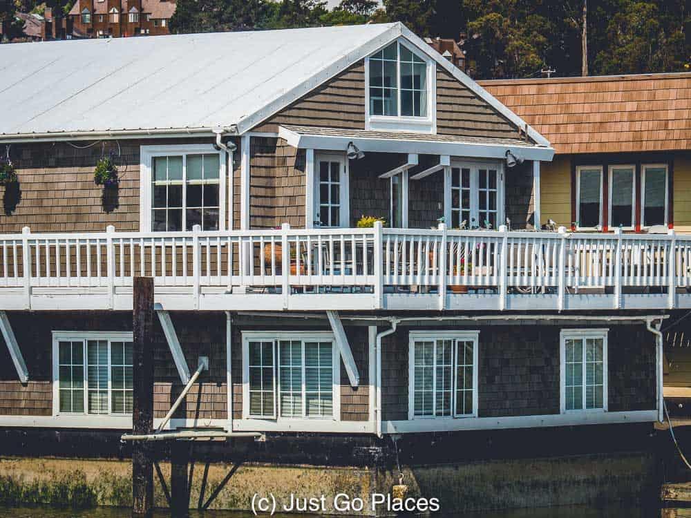 sausalito houseboats | sausalito floating homes | things to do in Sausalito