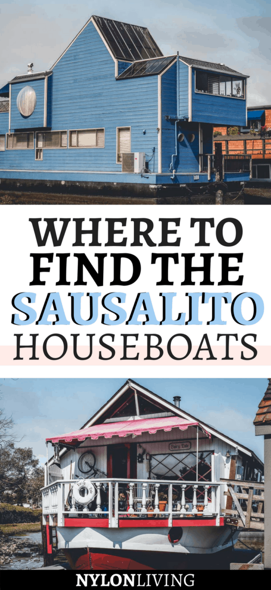 The Sausalito houseboats are little architectural marvels and I absolutely love them! A walking tour of the piers where the houseboats are docked is one of the cool things to do in Sausalito, California.Find out where to go and how to get there. #bayarea #california #californiadreaming - via @nylonliving