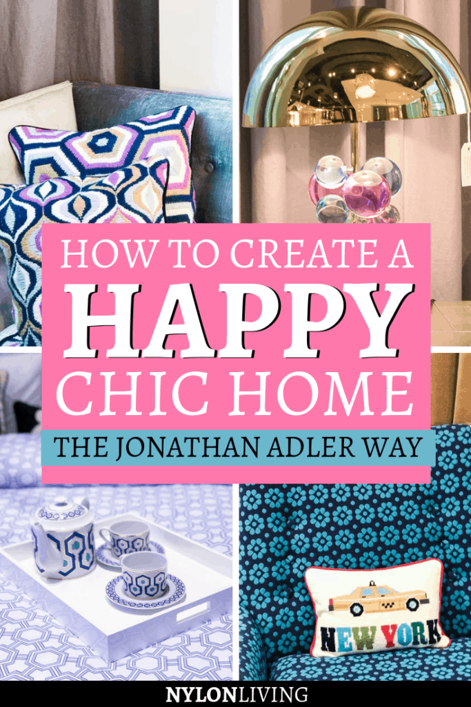 "What if I told you that I love the ""Happy Chic"" style? Have you ever heard of it?Jonathan Adler, the New York designer who invented it, makes interior design more fun. Imagine a colorful, witty style where tons of color and quirky accessories, decorative pillows are mixed together. Discover how to make your house more fun with this style! #colorful #happy #chic #decorideas #happychic #adler #happychic"