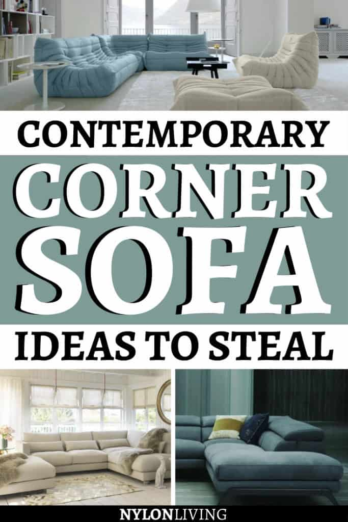 Hey, it's not easy to find the perfect couch for your living room! And what about a luxury yet contemporary corner sofa couch? That's even hearder! However, if you're looking for inspiration for the living room furniture and couch ideas for the living room, you've come to the right place. Check out this post. #sofadesign #sofa #cornersofa #livingroomfurniture #livingroomideas #livingroomdecor