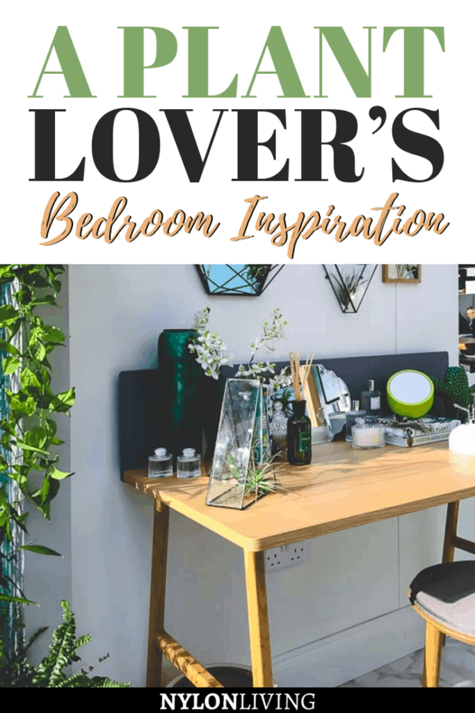 Not only do plants add beauty and warmth to a room, they bring a little bit of nature inside our home. Another reason to keep plants in the bedroom is that certain plants in the bedroom are good for helping you get your beauty rest. A plant covered bedroom is a plant mama's dream. Check out a few design for a plant lover bedroom. Terrariums, a four poster bedroom hung with plants, and a reading nook are just a few plant decor ideas. #plants #bedroomdesign #planthangers #bedroomsideas