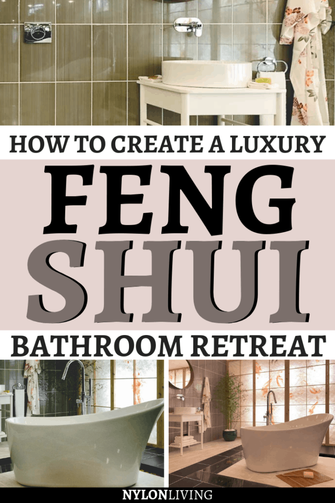 Feng shui is the art of placement of objects to increase the flow of good energy, and feng shui bathroom create a calm and serene vibe. Have you ever thought of creating an oriental inspired bathroom for your home? Check out a few ideas for a feng shui bathroom decor | and oriental bathroom ideas. #fengshui #bathroom #bathroomdesign #bathroomdecor