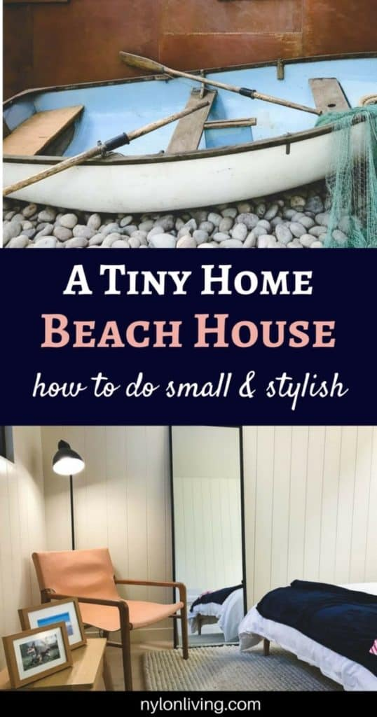 A Tiny Coastal Cottage That Packs In Scandi-Inspired Beach House Design #beachdecor interiordesign #interiorstyling #homedecor #amazingspaces