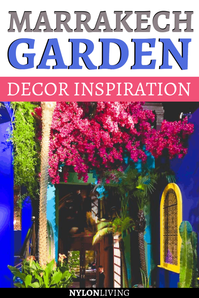 If you're looking for, floral inspiration, you need to check out the Mayfair Flower Show in London, from which you can't walk out without plenty of garden decor ideas and garden inspiration. For example, check out how to create a Marrakech inspired garden, colorful & exotic. #marrakech #exotic #gardendeco #gardenideas #floral #inspiration