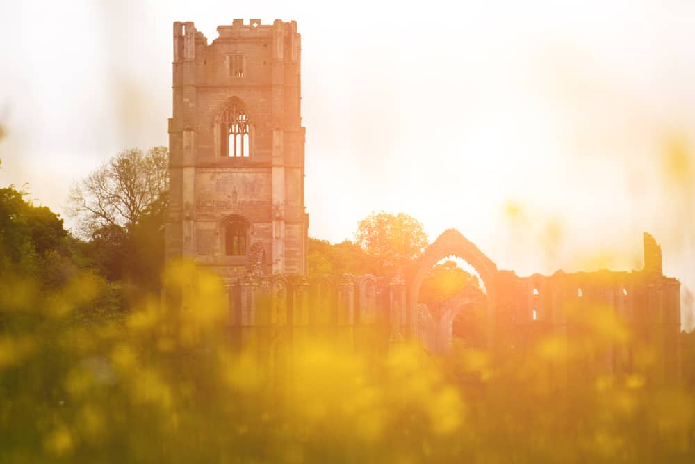 The Ruins of Fountains Abbey In Yorkshire #RHSchelsea #gardeninspiration #gardendesign #ChelseaflowerShow #UKtravel #Yorkshire #England #NorthYorkshire #statelyhome #countryhouse #NationalTrust #UKdaysout #garden_styles #gardenideas #Englishgarden #Englishcountryside #EnglishCountryGarden #Englishcountryhouse #gardens