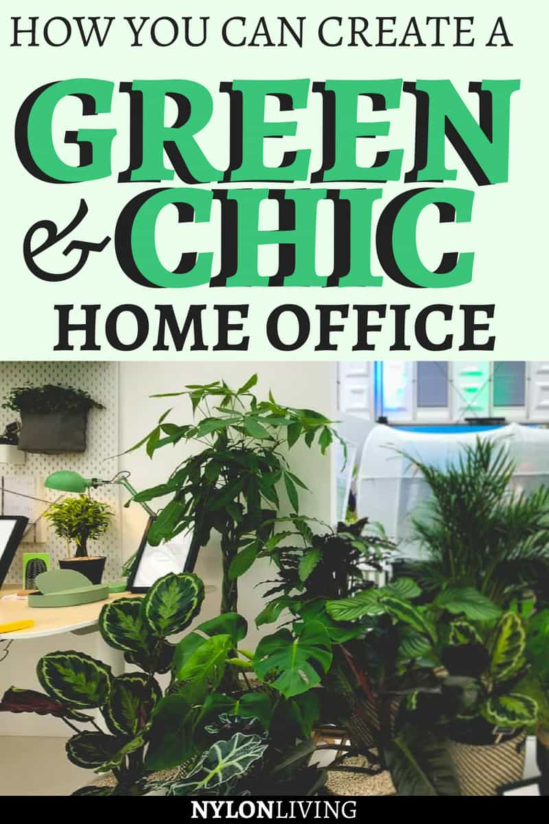 Ikea Plants Help You Style A Creative Home Office On A Budget #ikeaplants  #cheapgardenplants