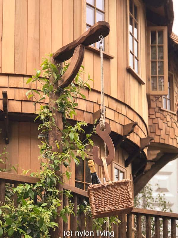 The tree house slide winds down from the top floor #treehouse #glamping #tinyhouse #treehouseplans #backyardideas #outdoorplay #design #architecture #inthewoods #playoutside #cabinporn #naturelife #timeinthegarden