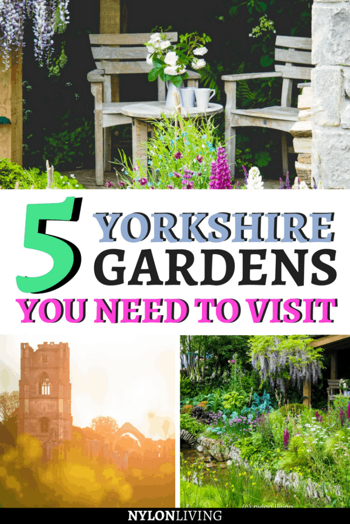 Yorkshire is so beautiful and underrated. Click and discover 5 gorgeous Yorkshire gardens that you can't miss + find some garden inspiration from the Chelsea Flower show. Some of the gardens in Yorkshire you can't miss include Yorkshire Dales National Park and Harlow Carr. #yorkshire #england #uk #gardens #gardenideas