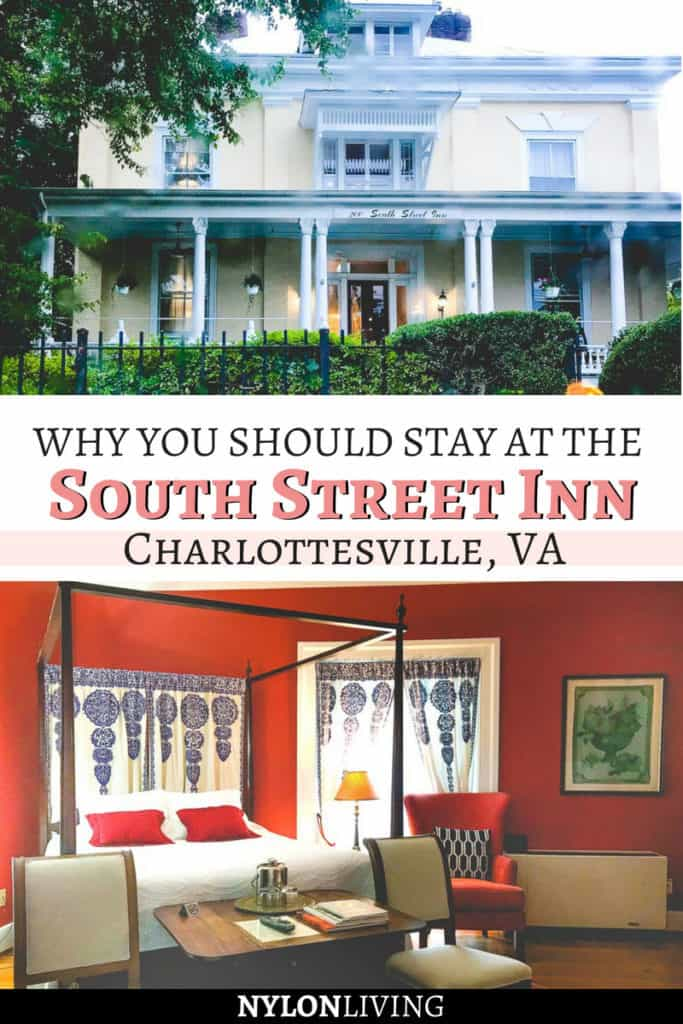 Why 200 South Street Inn is the Best Bed and Breakfast in Charlottesville, Virginia