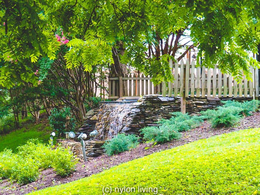 The landscaped grounds of The Clifton Inn Charlottesville VA