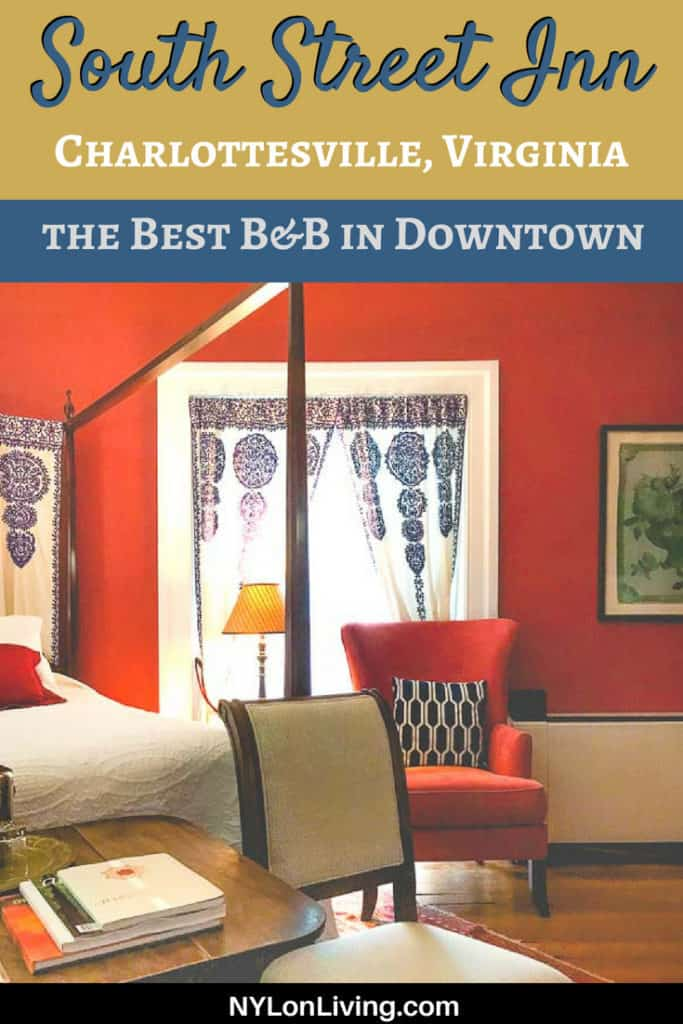 15 reasons 200 South Street Inn is the Best Bed and Breakfast in Charlottesville, Virginia