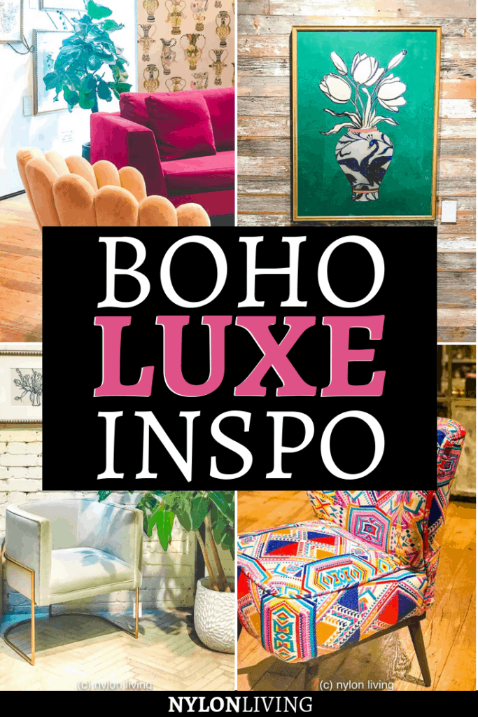Looking for some boho luxe inspiration? Go and check out an Anthropologie store. Anthropologie Regent Street in London is my favorite,I always find some beautifully curated inspiration for luxe boho decor! If you can't swing by, no worries: check out some inspirational photos of luxe boho style here! #anthropologie #luxe #boho #bohodecor #bohostyle