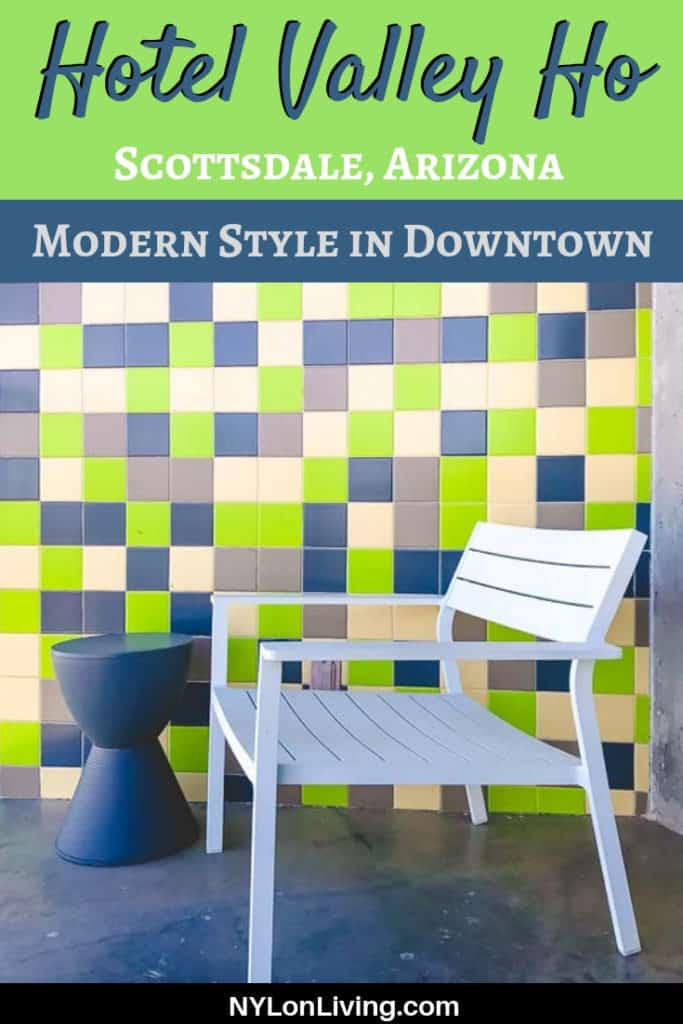 Steal These Mid Century Modern Home Design Ideas From This Luxury Mid Century Modern Hotel, Hotel Valley Ho in Scottsdale, Arizona