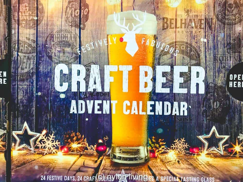 Fill your own advent calendar or take the easy way out with a pre-made beer advent calendar
