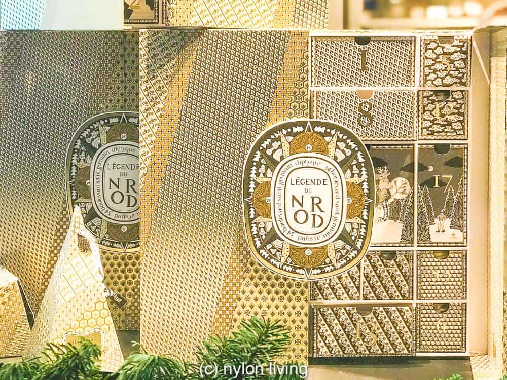 Advent calendar ideas for her include one from French company, Diptyque
