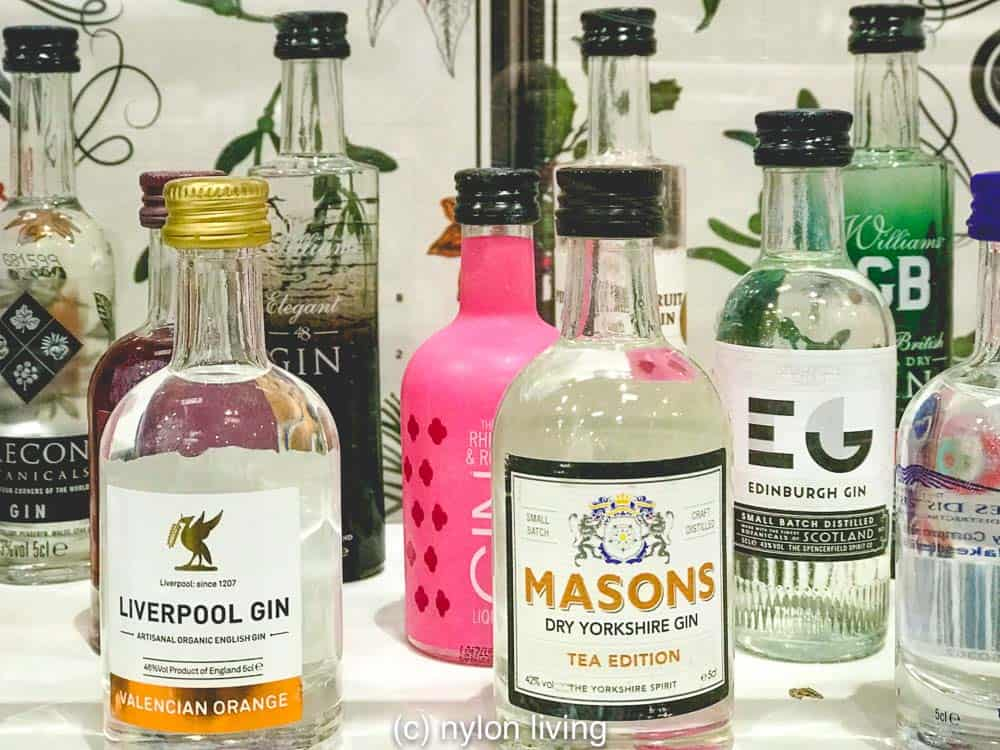 Unusual advent calendars include this selection of UK gins