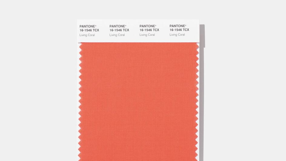 Living Coral is the color of the year for 2019 according to color trend experts, Pantone Image credit: Pantone