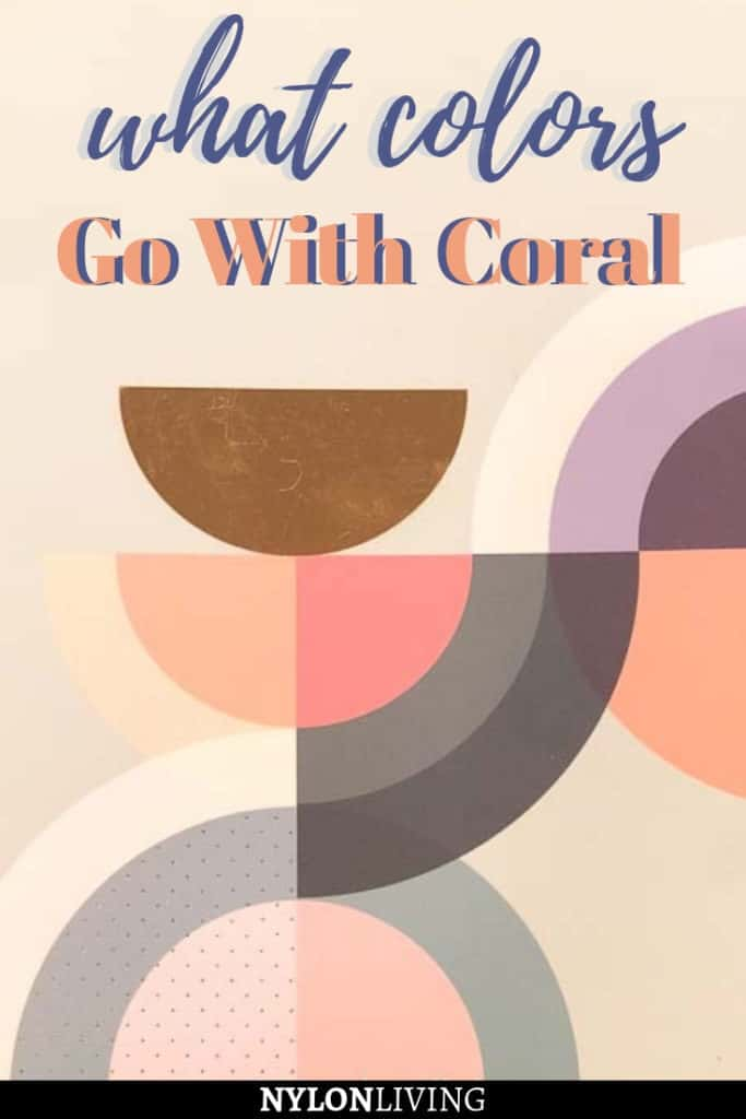Get To Know The Colors That Go With Coral #livingcoral #pantone #homedecor #furnishings #homedecorideas #furnishings #pantone2019 #coralcolor #coraldecor #coralfurniture #coralhomedecor