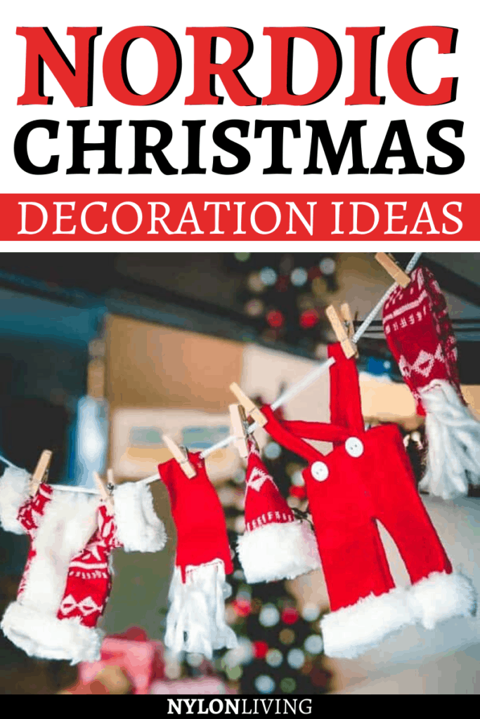 Nordic Christmas decoration ideas