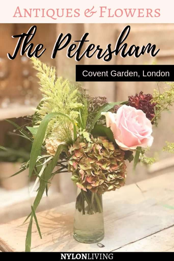 Petersham Covent Garden is an oasis of English country elegance in an urban setting #London
