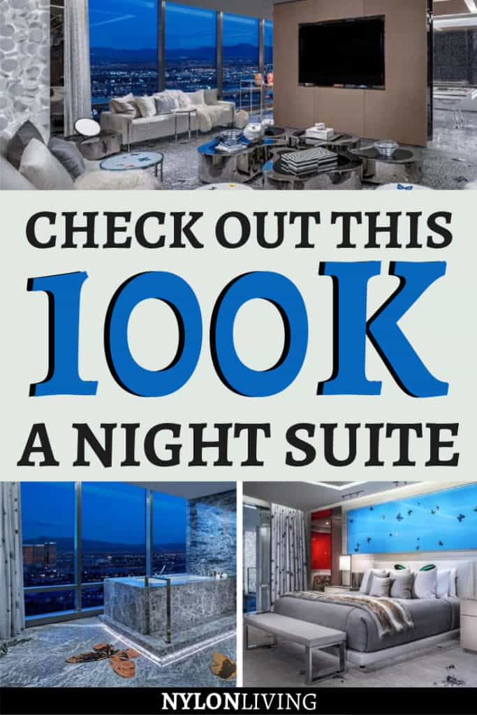 Check out this 100k a night suite