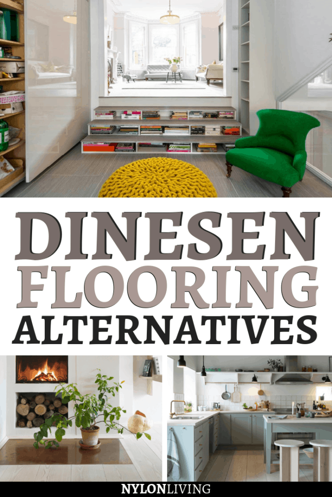 Dinesen floor is considered among the world's best wood flooring.These fancy floors create a feeling of space and light even despite the qualities of the room itself – something that Scandinavian design does well! But unless you are seriously wealthy, it's hard to justify its high price tag. Check out these Dinesen flooring alternatives: with some creativity and a few diy ideas,you can get the fancy looking floors you've always wanted! #dinesen #floors #flooring #diy #interiordesign #budget